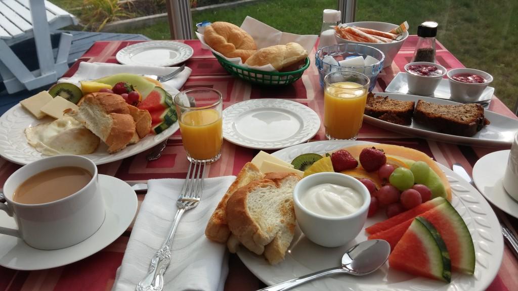 Frühstück mit viel Liebe