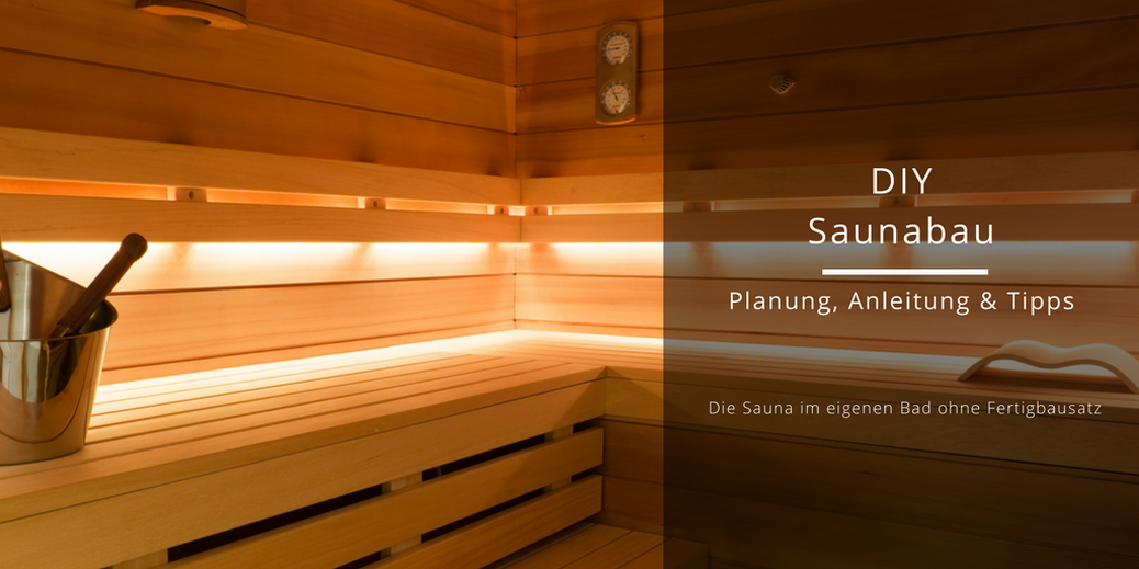 diy sauna selber bauen. Black Bedroom Furniture Sets. Home Design Ideas